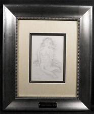 Raoul Dufy, Dry Point Etching, Edition of 200, 1930, Signed in Plate, Mint