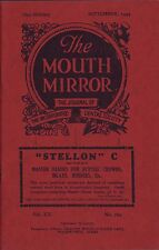 The Mouth Mirror. Dentistry. 1944.   W1.8