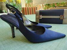 Giuseppe Zanotti evening shoes with matching purse
