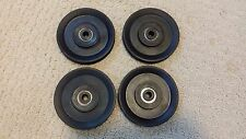 """(4) Bowflex Ultimate 2 Single 4"""" Pulley Works for many pulleys on Ultimate 2"""