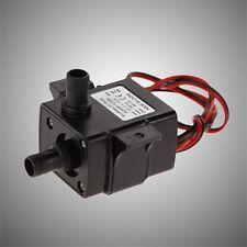 Brand New Genuine DC Water pump 240L/H 12V Mini Ultra Quiet Black Pump SV