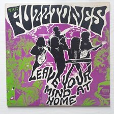 THE FUZZTONES - LEAVE YOUR MIND AT HOME US LP + INSERT + FANZINE FUZZ BUZZ  1984