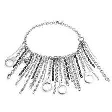 Modeschmuck-Halsketten aus Edelstahl