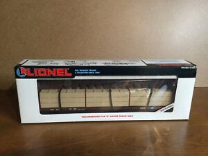 Lionel 6-16372 Southern I-Beam Flatcar with Wood Load. NIB. Unopened.