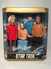 Barbie & Ken Doll STAR TREK Giftset, 30TH anniversary, 1996 Mattel, Sealed
