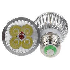 E27 4W Warm White High Power LED Lamp Light Cup Bulb 4X1W AC85V-265V