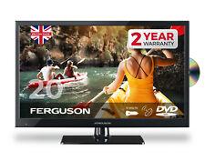 "FERGUSON 20"" INCH 12 volt LED TV FREEVIEW HD, SAT & DVD UK MADE CARAVAN TV 12v"