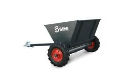 Sami S 290 Pull Type Ground Driven Salt And Sand Spreader