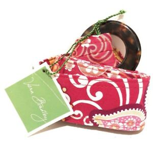 NEW NWT Vera Bradley Reversible Belt Pink Retired Raspberry Fizz Free Shipping