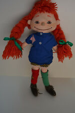 Muñeca Pipi Calzaslargas - Tela