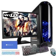 Paquete de computadora de escritorio para juegos de PC Cuatro Núcleos 3.7GHz 16 GB SSD ATI Rx 570 4 GB jf74