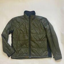 Columbia Mens size XL titanium tech interchange jacket green