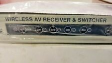 Tvt Tc-9120R Wireless Av Receiver & Switcher Boxed Manual -No Adapter Included