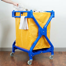 NEW Lavex Commercial Rolling Laundry Linen Hotel Trash Housekeeping Cart