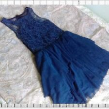 Rebecca Taylor Royal Blue Lace Tulle Dress 2