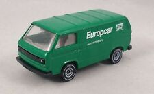 Siku VW Bus T3 Transporter Europcar inter rent Volkswagen Bus