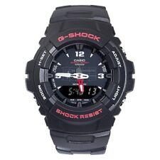 Casio G-Shock G-100-1B Black New Original Analog Digital Mens Watch G-100 G100