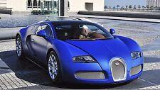 Bugatti Veyron (blue)  24 x 36 Poster