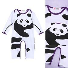 Newborn Infant Baby Boy Girls Kids Cotton Romper Jumpsuit Bodysuit Cloth 0-3M