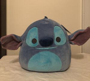 """New Kellytoy Disney Stitch Squishmallow 12"""" Plush Brand New With Tag"""