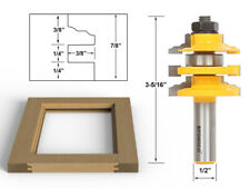 Classical Ogee Stacked Rail And Stile Router Bit 12 Shank Yonico 12120