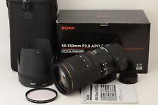 Sigma APO 50-150mm f/2.8 EX DC OS HSM Lens For Nikon [Excellent]  (06-Q17)