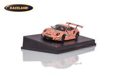 Porsche 911 RSR Sau Pink Pig Le Mans 2018 Christensen/Estre/V. Spark 1:87 87S143