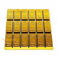 Gold Bullion Coaster Cup Holder Mat Mug Drink Pad Luxury Placemat Gold Bar USA