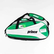 NEW Prince Men's Tennis Racquet Bag in Green and White - Pack of 6
