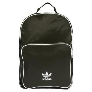 adidas ORIGINALS CLASSIC ADICOLOR BACKPACK DARK GREEN TREFOIL BAG SCHOOL COLLEGE