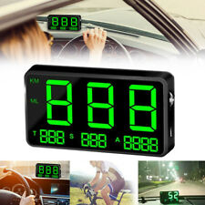 Digital GPS Speedometer HUD MPH / KM/h Overspeed Warning For Car Motorcycle