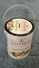 liquorice allsorts storage tin money box.