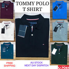 Mens Polo Tommy Hilfiger Short Sleeve Polo shirt Slim Fit S-XXL