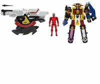 2017 Power Rangers Ninja Steel Megazord and Cannon action figures set.