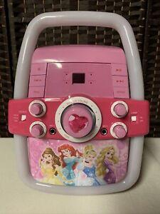 Disney Princess Karaoke Flashing Lights CD Player