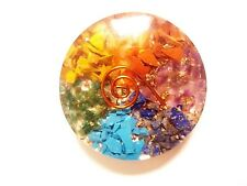 7 Chakra Orgone symbol Reiki Disk for Maditation Healing Energy Reiki