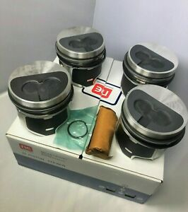 Piston Volkswagen Audi Golf Passat Diesel 1.9 TD  80.00mm Oversized (Set 4 cyl)