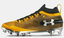 c6bdff54a774 Under Armour Mens UA 2018 Spotlight MC Molded Football Cleats Yellow/Black  sz 9