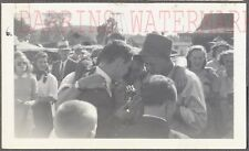 Vintage Photo Young Men Singing Into Microphone 735137