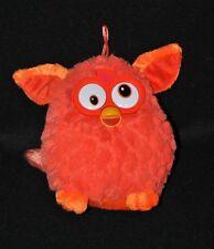 Peluche Doudou Furby Orange HASBRO Famosa 2013 Yeux Durs 15 Cm Etat NEUF