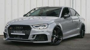 Audi A3 S3 RS3 2013-2020 Sedan (8V) Slimline Window Visors/Weathershields (4PCS)