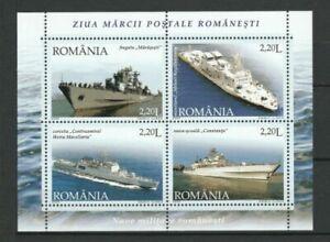 Rumänien 2005 Schiffe Postfrisch