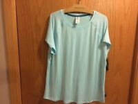 Women's C9 Chamipions Light Blue Duo Dry Shirt Size XL NEW