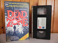 The Dead Zone - Stephen King - Horror Video - Small Box - Pre-Cert - Pal - VHS
