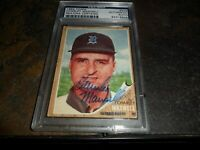 1962 Topps #506 Charley Maxwell Signed DETROIT Tigers Authentic AUTO PSA/DNA