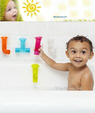 Boon Pipes Toy - Multi-Coloured For Kids Children Make Bath Time Fun