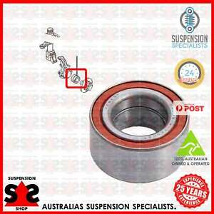 Front Axle Left Or Right Wheel Bearing Suit AUDI 90 (89. 89Q. 8A. B3) 2.3 E