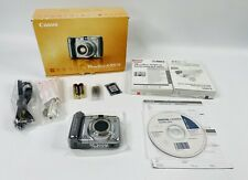 Canon PowerShot A720 IS 8.0MP Digital Camera 6x Optical IS Zoom NEW OPEN BOX