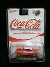 M2 Machines Coca Cola 1957 Chevy Bel Air Gasser Limited Edition.
