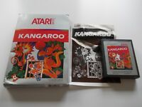 KANGAROO  ATARI 2600 / 7800 GAME  BOXED COMPLETE  (TESTED AND WORKING)